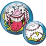 Brunswick Madballs Screamin Meemie PRE-DRILLED Viz-A-Ball Bowling Ball