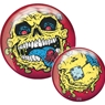 Brunswick Madballs Skull Face PRE-DRILLED Viz-A-Ball Bowling Ball