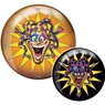 Brunswick Joker Glow PRE-DRILLED Viz-A-Ball Bowling Ball