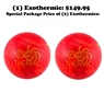 Moxy Exothermic Bowling Ball- 2 Ball Package