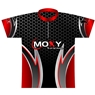 Moxy Dye-Sublimated Jersey- Red/Black
