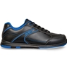 KR Strikeforce Mens Flyer Bowling Shoes- Black/Magenta Blue Wide