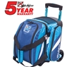 KR Cruiser Single Roller Bowling Bag- Navy/Aqua