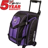 KR Eliminator 2 Ball Roller Bowling Bag- Purple