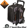 Hammer Premium 2 Ball Roller Bowling Bag- Black/Carbon