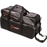 Hammer Triple Tote Bowling Bag with Pouch- Black/Carbon