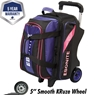 Ebonite Equinox Double Roller Bowling Bag- Many Colors Available