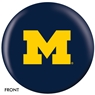 University of Michigan Wolverines Bowling Ball