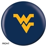 West Virginia Mountaineers University Bowling Ball