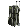 Storm 3 Ball Rolling Thunder Bowling Bag- Black/Gray/Lime