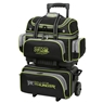 Storm 4 Ball Rolling Thunder Bowling Bag- Black/Gray/Lime