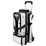 Storm 3 Ball Rolling Thunder Signature Series Bowling Bag- White/Black