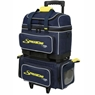 Storm Streamline 4 Ball Roller Bowling Bag- Navy/Gray/Yellow