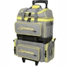 Storm Streamline 4 Ball Roller Bowling Bag- Gray/Black/Yellow