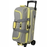 Storm Streamline 3 Ball Roller Bowling Bag- Gray/Black/Yellow