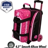 Ebonite Eclipse Double Roller Bowling Bag- Many Colors Available
