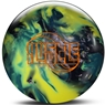 Roto Grip Hustle S-A-Y Bowling Ball- Silver/Aqua/Yellow