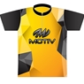 Motiv Bowling Yellow Polygon Dye-Sublimated Jersey