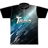 Track Bowling Splats Dye-Sublimated Jersey