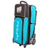 DV8 Circuit Triple Roller Bowling Bag - Teal