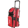 Radical Triple Roller Bowling Bag - Black/Red