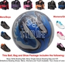 Moxy Strife Bowling Ball, KR Strikeforce Shoe and Moxy Bag Package