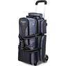 Storm 3 Ball Rolling Thunder Bowling Bag- Plaid/Gray/Black