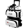 Storm 4 Ball Rolling Thunder Signature Bowling Bag- White/Black