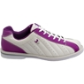 3G Ladies Kicks Bowling Shoes- White/Purple