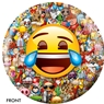 Emoji Laugh-Cry Bowling Ball