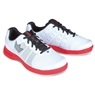 Brunswick Mens Fuze Bowling Shoes- White/Red