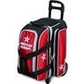 Roto Grip 2 Ball Roller Bowling Bag- Black/Red