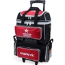 Roto Grip 4 Ball Roller Bowling Bag- Black/Red