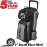 KR Krush 3 Ball Roller Deluxe Bowling Bag- Stone/Black