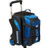Ebonite Equinox Double Roller Bowling Bag- Black/Royal