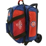 Chicago Cubs MLB 2 Ball Roller Bowling Bag- 2016 World Series Champions