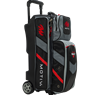 Motiv Vault 3 Ball Roller Bowling Bag- Black