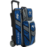 Motiv Vault 3 Ball Roller Bowling Bag- Blue