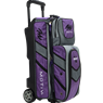 Motiv Vault 3 Ball Roller Bowling Bag- Purple