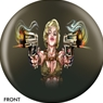 JDANGER Double Guns Bowling Ball