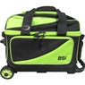 BSI Lime Double Roller Bowling Bag