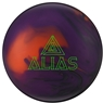 Track Alias Bowling Ball- Smoke/Purple/Orange