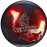 Ebonite Cyclone PRE-DRILLED Bowling Ball- Red/White/Blue