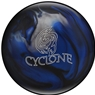 Ebonite Cyclone PRE-DRILLED Bowling Ball- Black/Blue/Silver