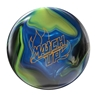 Storm Match Up Hybrid PRE-DRILLED Bowling Ball- Black/Yellow/Royal
