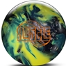 Roto Grip Hustle S-A-Y PRE-DRILLED Bowling Ball- Silver/Aqua/Yellow