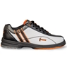 Hammer Womens Vixen Left Hand Bowling Shoes- White/Black/Orange