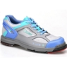 Dexter Womens SST The 9 Bowling Shoes Wide- Grey/Periwinkle/Aqua