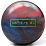 Brunswick Method Bowling Ball- Red/Charcoal/Deep Sky