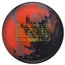 Hammer Diesel Bowling Ball- Black/Red/Orange